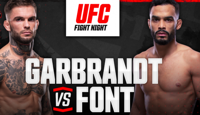 UFC Fight Night 188 Date, Time, Location, PPV When Is Font vs. Garbrandt