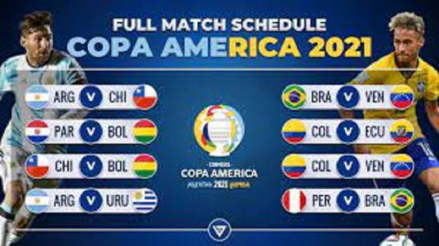 Copa America 2021 Fixtures list with all matches schedule & time!
