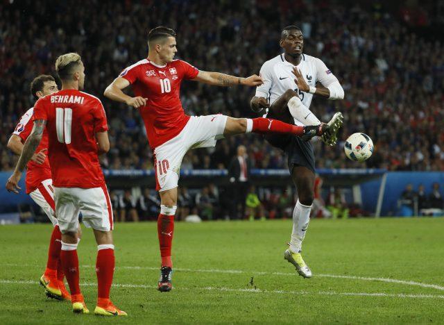 France vs Switzerland Head to Head