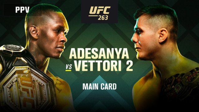 UFC 263 Odds Adesanya vs Vettori 2 Odds & Betting Tips!