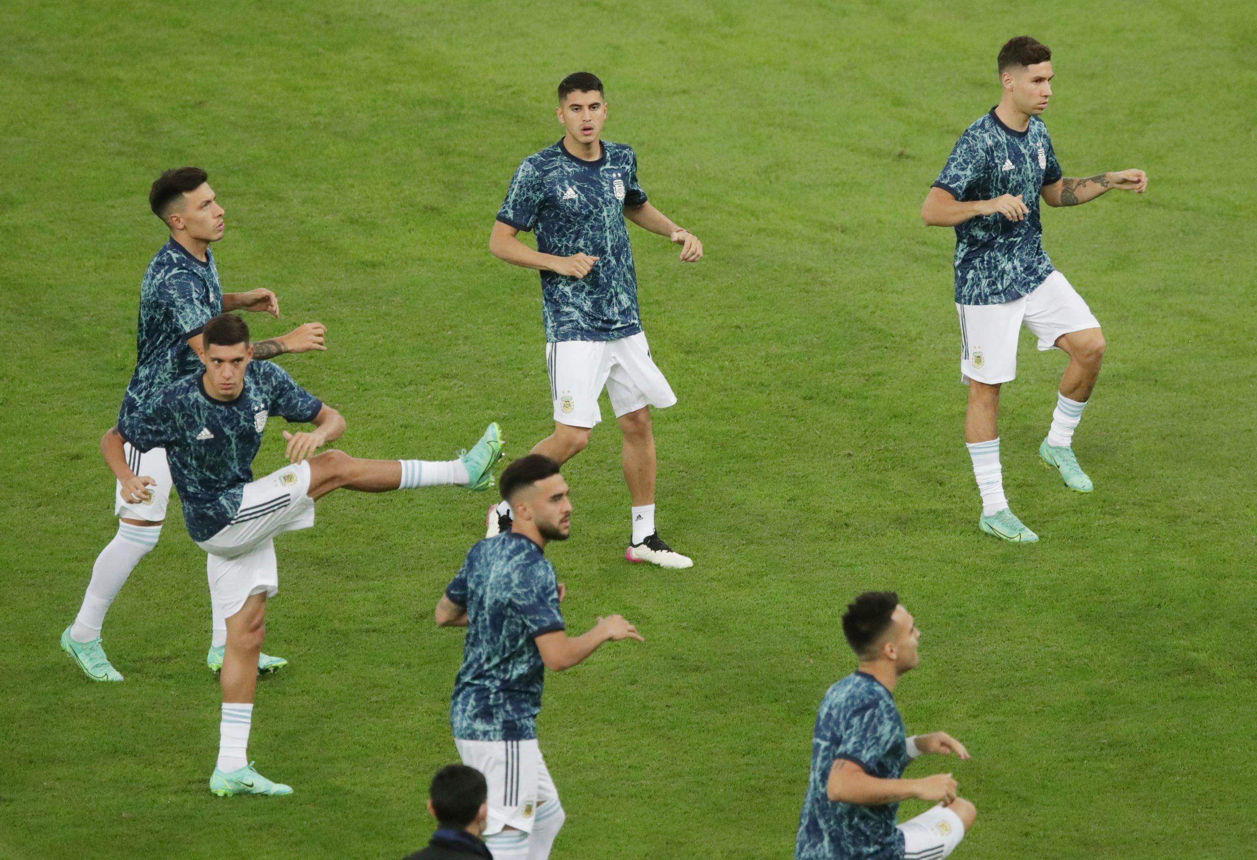 Argentina Squad Olympics 2021