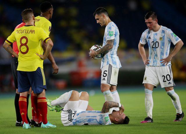 Argentina vs Colombia Head to Head
