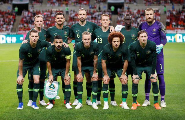 Australia vs Egypt Predicted Starting Lineup