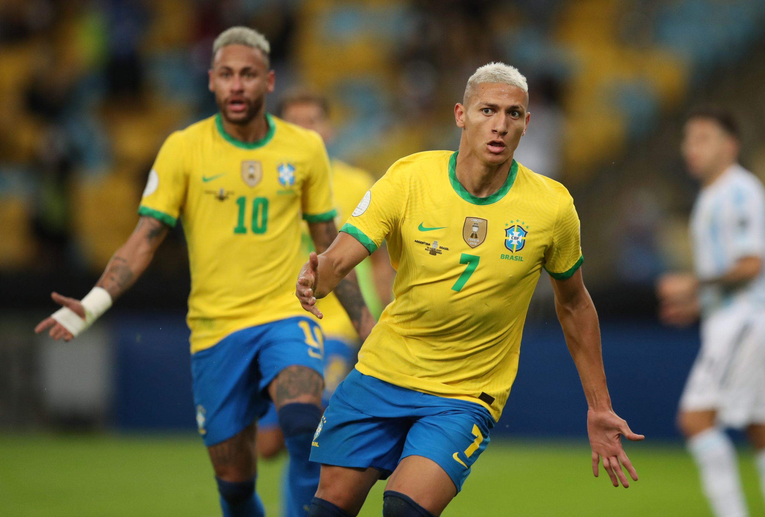 Brazil National Football Team Strikers