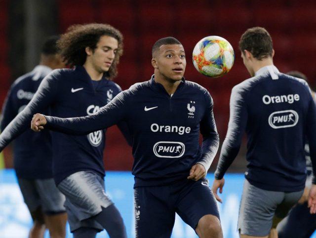 France Squad Olympics 2021
