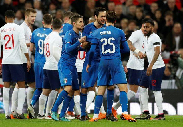 Italy vs England Head to Head