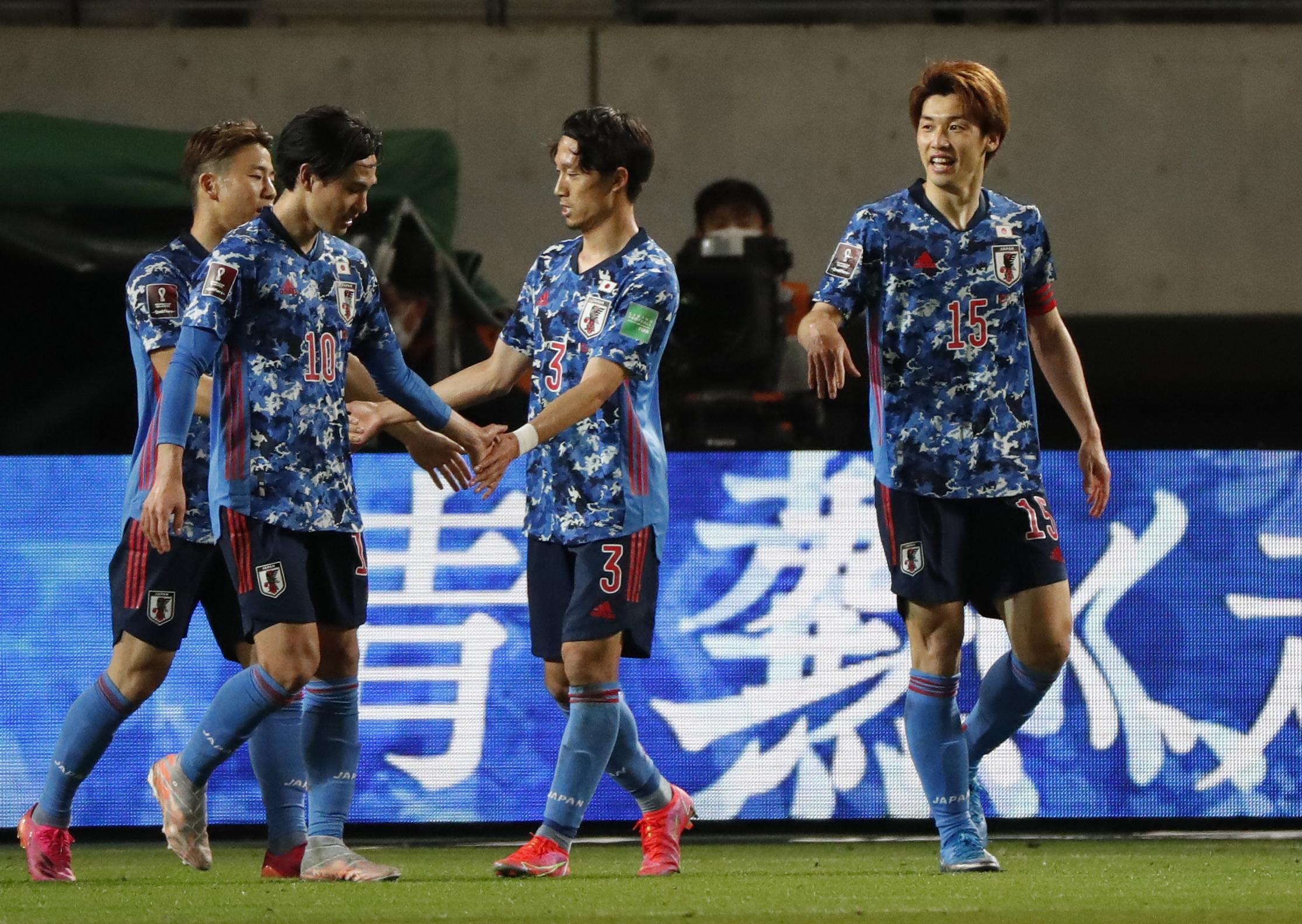 Japan Squad Olympics 2021