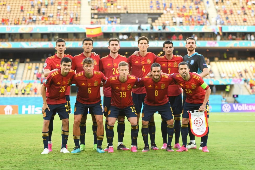 Spain Squad Olympics 2021