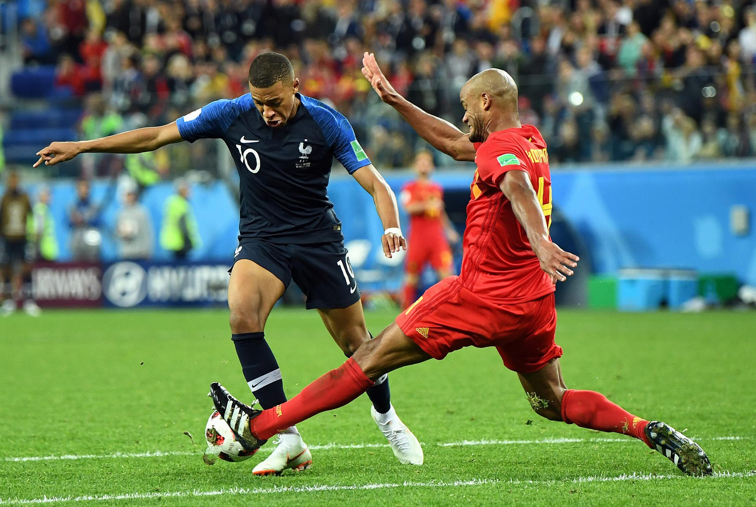 Belgium vs France Head To Head Results & Records (H2H)